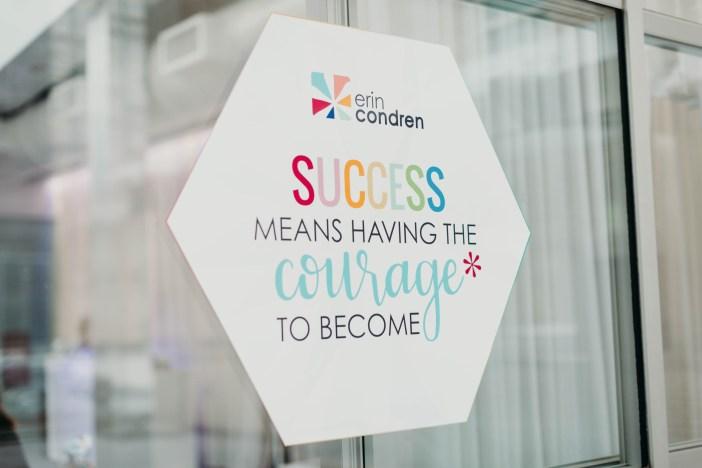 Erin Condren- Success Means Having the Courage to Become #ecsquad #erincondren
