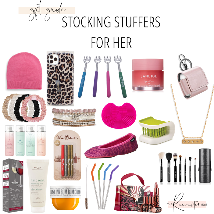 Gift Guide // Stocking Stuffers for her  #gifts2019 #giftguide2019 #giftsforwife #giftsformom #giftsforgirlfriend #2019gifts #stockingstuffers #beststockingstuffers