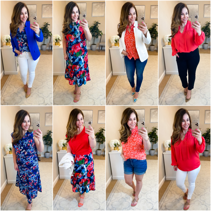 Gibson x International Women's Day collection from weekend to workwear these fun spring prints and gorgeous fabrics have you covered! #spring2020 #springdresses #workwear #businesscasual