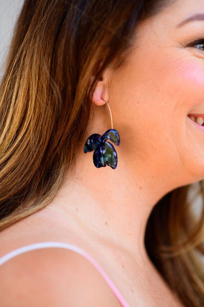 Target Resin Leaf Earrings // Sugarfix by Baublebar