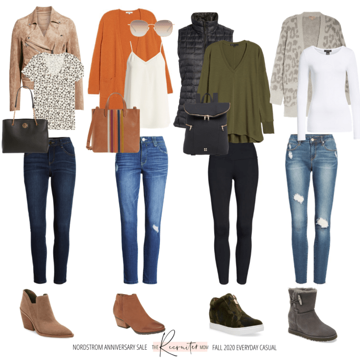 Nordstrom Anniversary Sale 2020 // outfit ideas on www. therecruitermom.com // everyday casual // mom outfit // fall casual outfits