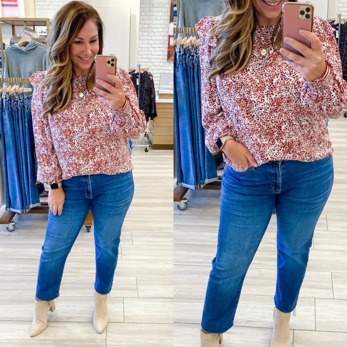 #evereve #everevefalllook #fallfashion #winterfashion #jeans #affordablefashion #affordablefallfashion #fall #winter #tryon