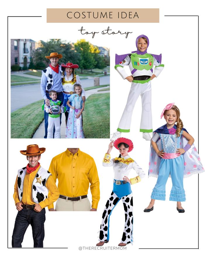 Toy Story Costume Ideas #familycostumeideas #toystory #buzzlightyearcostume #halloween #woodycostume #menscostume