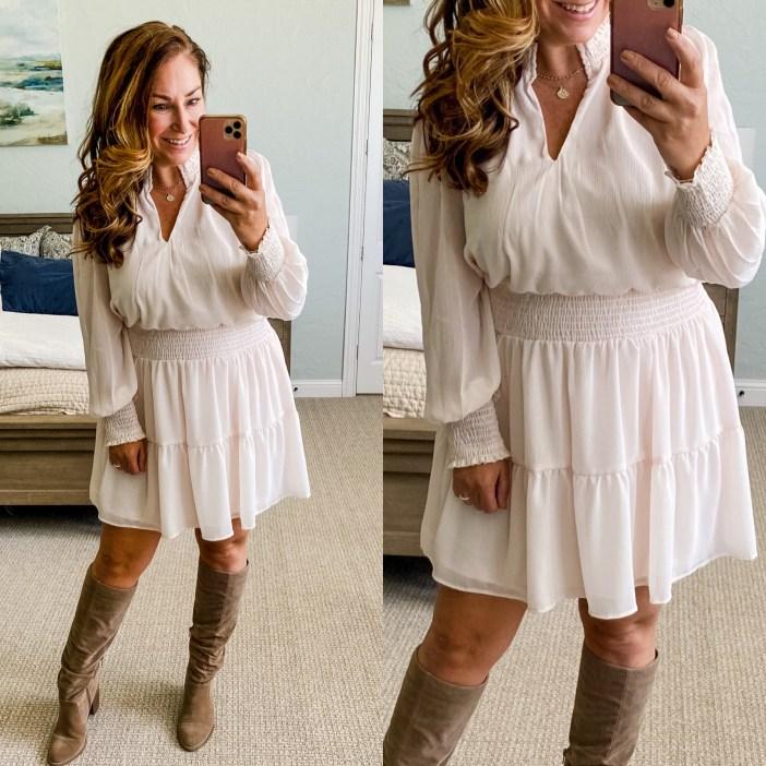 Fall Dress from Gibsonlook #newarrivals #fallstyle #gibsonlook #fallfashion #falldresses #womensclothing