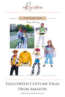 Halloween Costume Ideas From Amazon #familycostumes #kidscostumes #affordablecostumes #halloweenideas #amazon