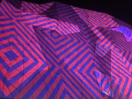 Federation Square lights 3