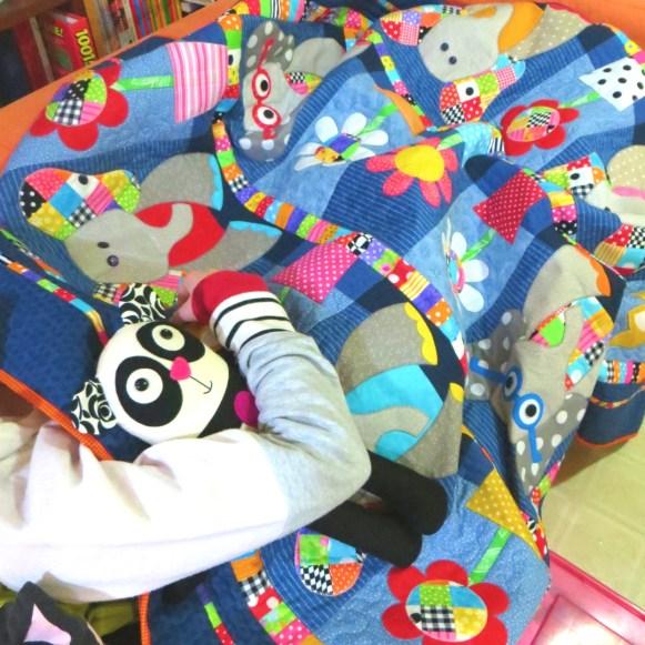 elephant quilt lounge