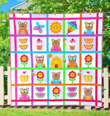 teddy bears picnic bright
