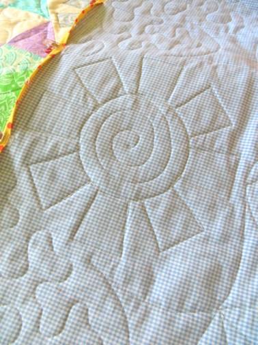 back quilt