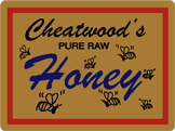 Cheatwoods Honey 24oz Outlines