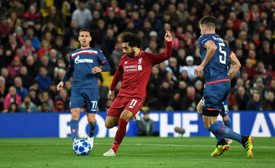 Liverpool vs Red Star: player performances