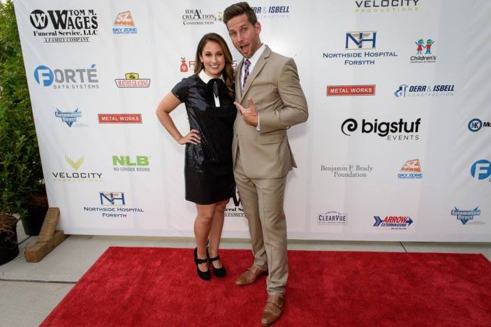 Edward and I on the red carpet - DIY Personal Stylist