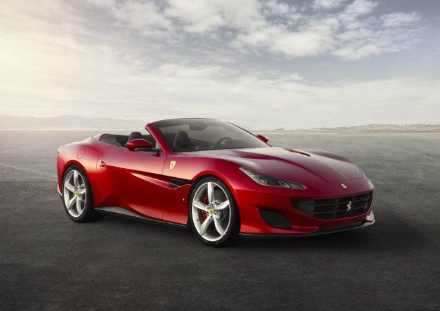 Ferrari Portofino roof down