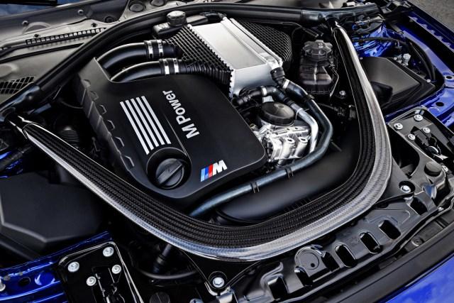 BMW M4 CS Engine