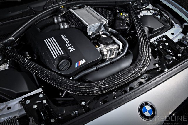 BMW M2 Competition engine
