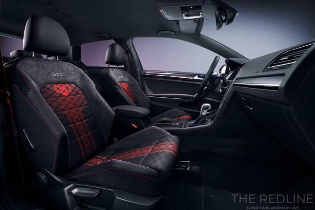 VW Golf GTI TCR interior