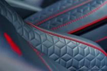 Aston Martin DBS Superleggera interior detail