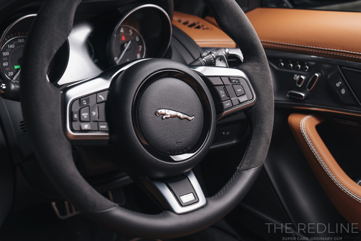 F-Type SVR Coupe interior