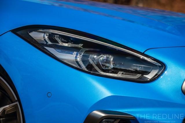 BMW Z4 2019 headlights