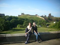 Riuns of Tynemouth castle