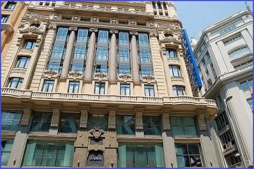 Zara store, the biggest in Europe