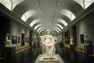 Inner side of the gallery