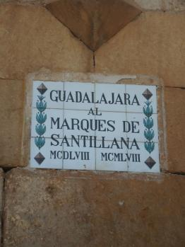 Typical medieval wall sign of middle and southern Spain
