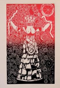 Imbolc 2013 Minoan Snake `priestess - variation