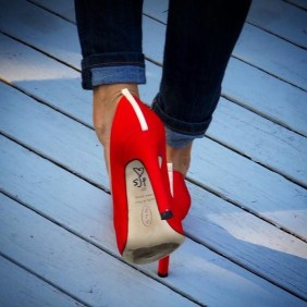 Sarah Jessica Parker's 'Lady' pump. Photo credit: Michelle Orsi