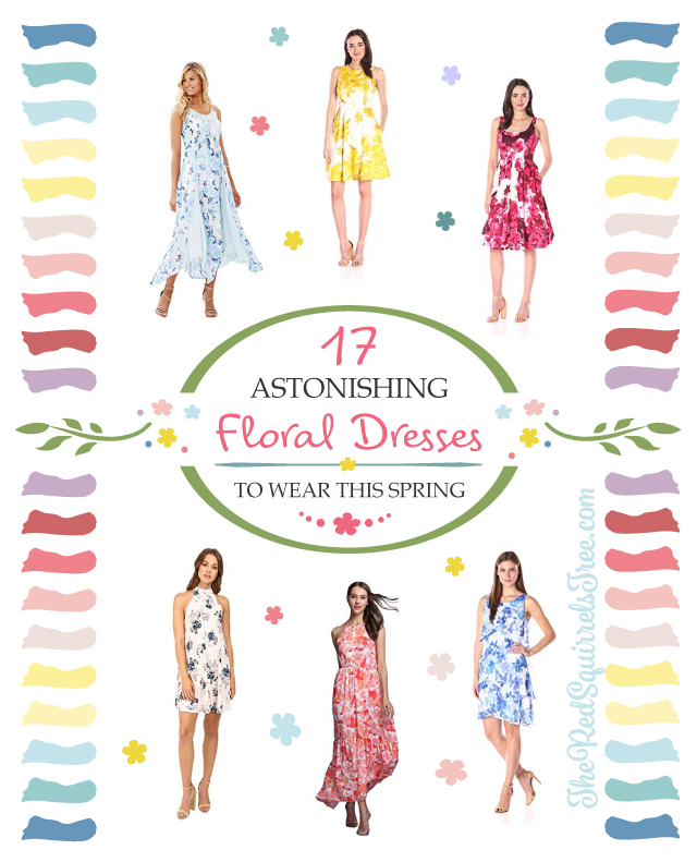 17 astonishing floral dresses to wear this spring