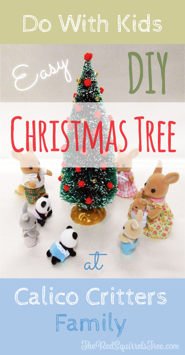 DIY Christmas Tree: An Easy Project To Do With Kids - The Red ...