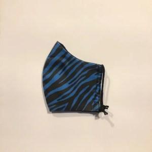 Mondkapje #Tijger blauw