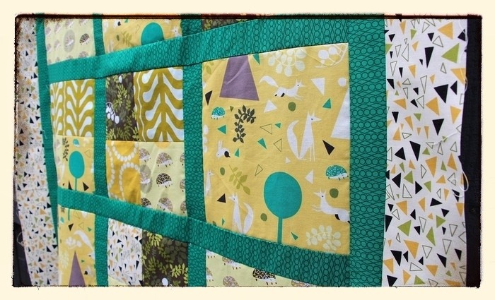 Outfoxed Quilt Top
