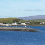 Inish Lyre harbour, as seen from Crovinish