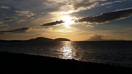 Croagh Patrick and the Islands of Clew Bay