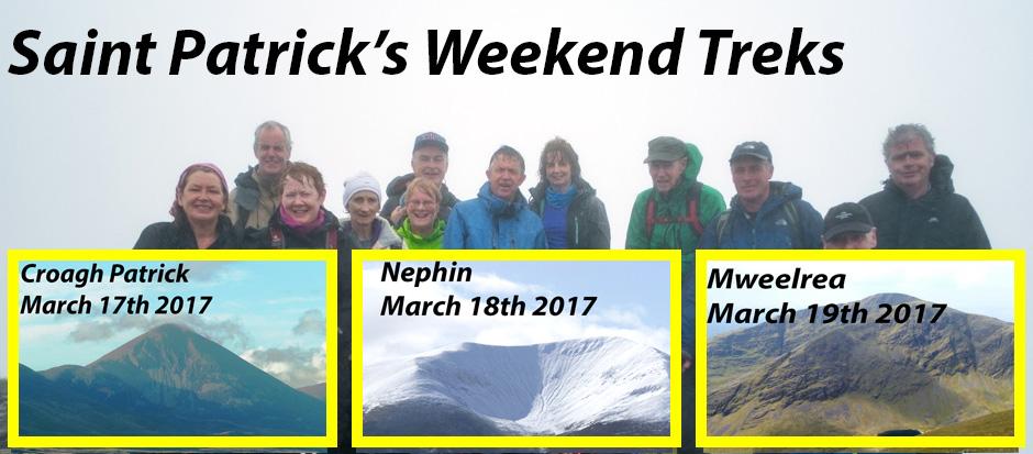Saint Patrick's Weekend Treks