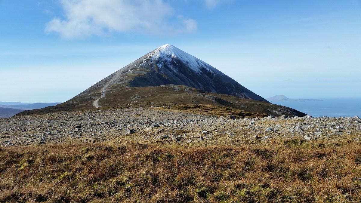 Casan Padraig - the summit cone of the Reek