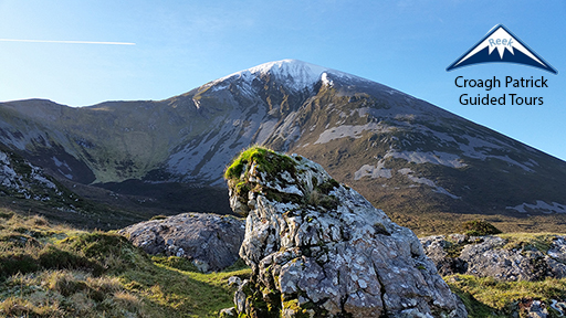 Croagh Patrick on the Wild Atlantic Way in County Mayo, Ireland
