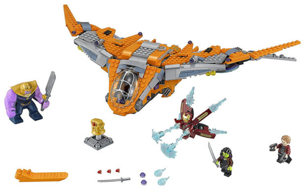 Avengers Infinity War LEGO Sets Offer Some Surprise