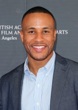 LOS ANGELES, CA - MAY 16: Devon Franklin Senior Vice President of Production, Columbia Tristar Pictures attends the BAFTA LA Outreach Project at Washington Prep High School Film Festival on May 16, 2014 in Los Angeles, California. (Photo by David Buchan/Getty Images)