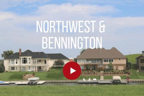 Northwest and Bennington
