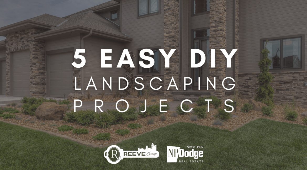 5 EASY DIY LANDSCAPING PROJECTS