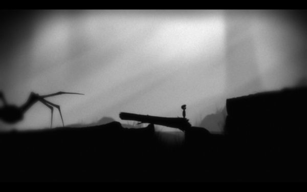 Limbo Screenshot Wallpaper spider chase