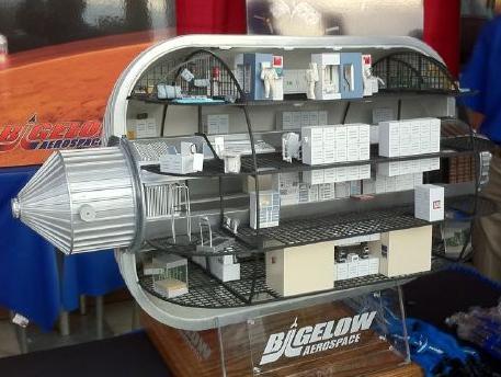 Bigelow Aerospace BA-2100 Inflatable Space Module