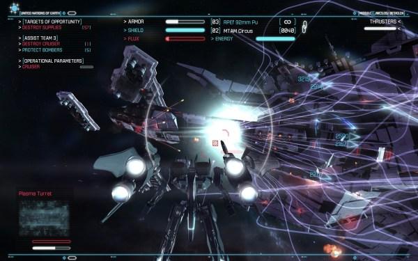 Strike Suit Zero Screenshot Wallpaper Strike Mode