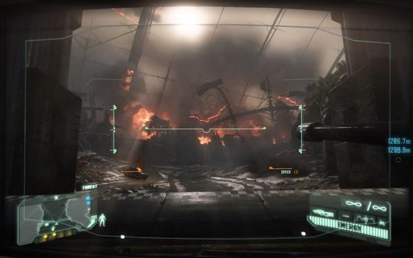 Crysis 3 Screenshot Walpaper Tank Section