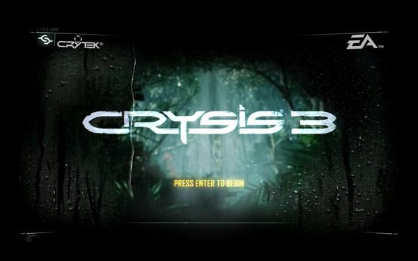 Crysis 3 Screenshot Walpaper Title Screen