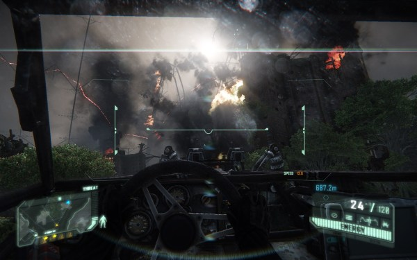 Crysis 3 Screenshot Walpaper Vehicle Section