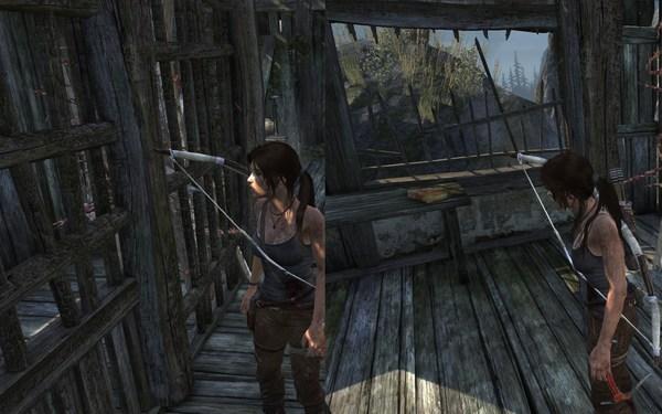 Tomb Raider 2013 Screenshot Wallpaper Glitch