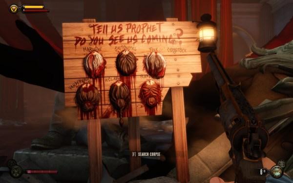 Bioshock Infinite Screenshot Wallpaper Do You See Us Coming Prophet